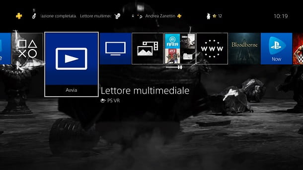 Lettore Multimediale PS4