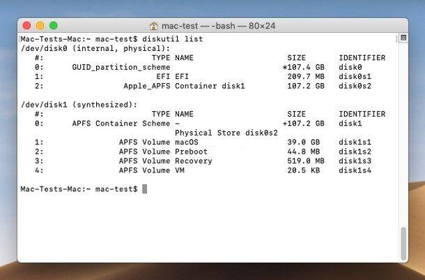 Formattare SSD da Terminale