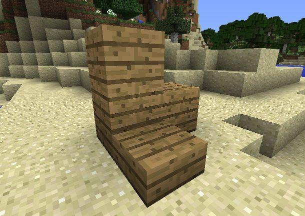 minecraft legno