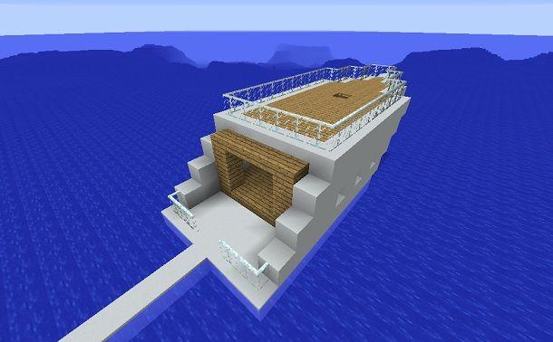 minecraft yacht completo