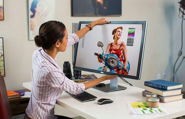 Come pulire il computer dallo sporco - Monitor