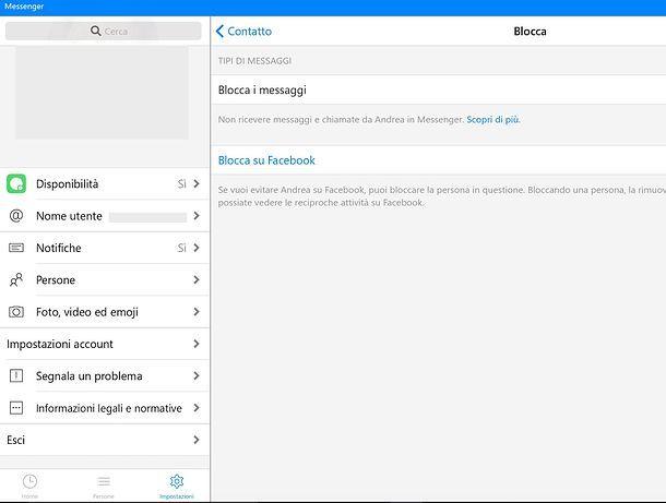 Messenger per Windows 10