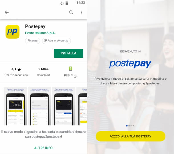 postepay android