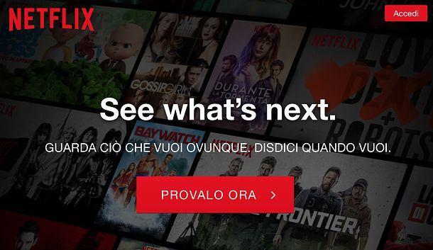 Piani Netflix