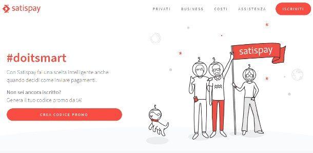 Come comprare su Internet senza carta di credito - Satispay