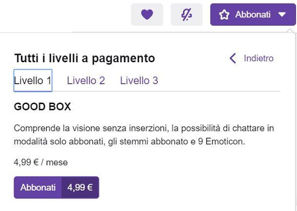 Sub Twitch