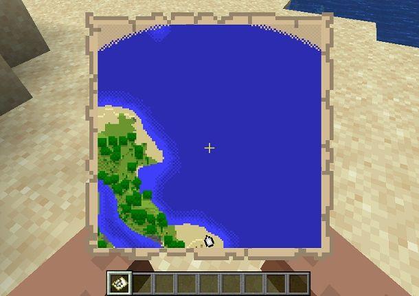 utilizzo mappa minecraft