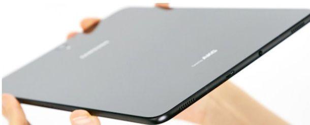 Materiali costruttivi di un tablet
