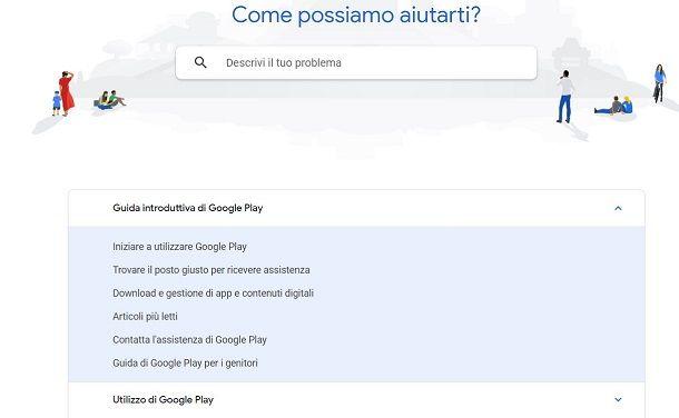 Contatti Google Play