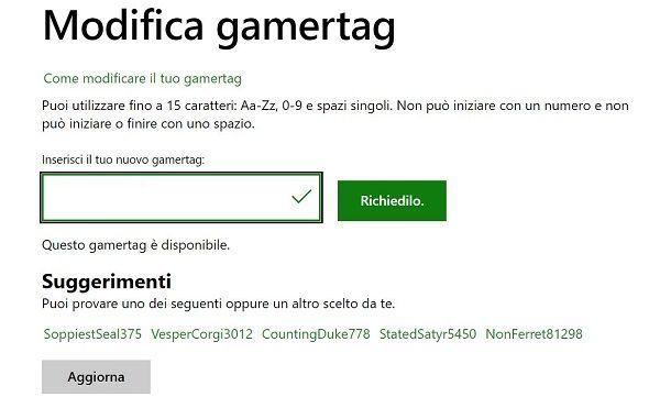 Gamertag PC