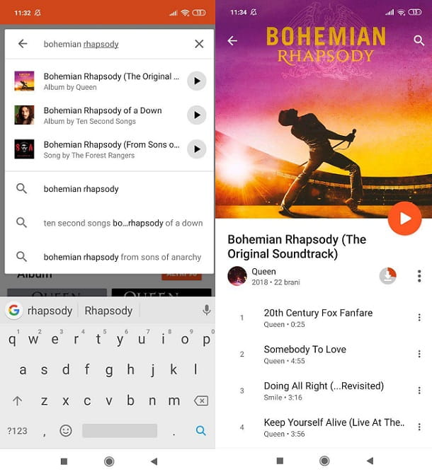 Google Play Music Android