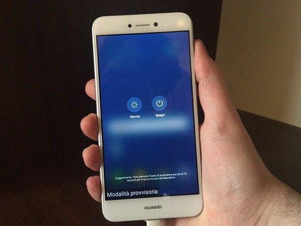 Huawei Modalità Provvisoria