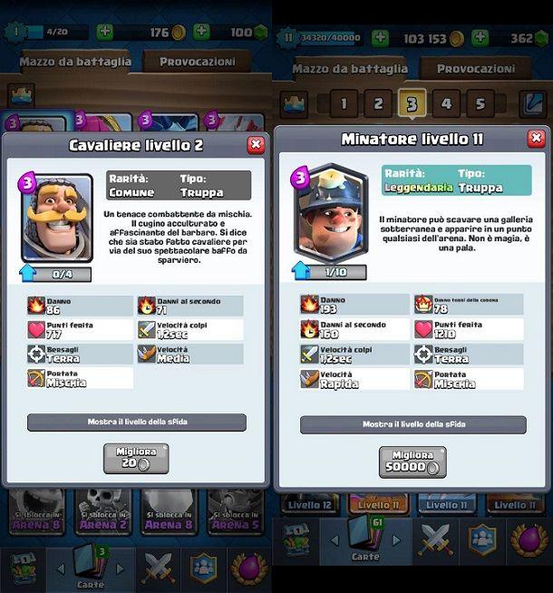 Minatore leggendario Clash Royale