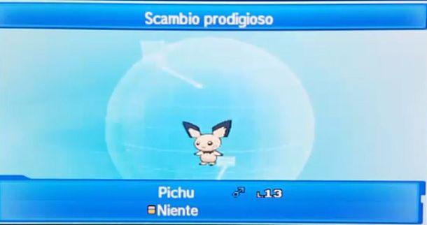Scambio Prodigioso Pokemon