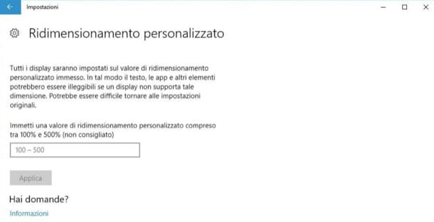 Testo Windows 10