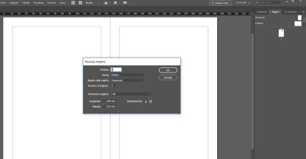 Adobe InDesign Nuova Mastro