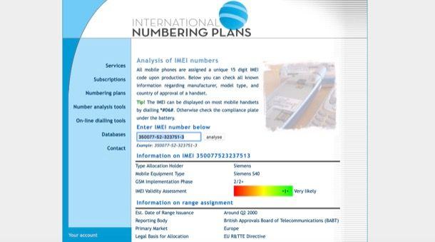 International Numbering Plans