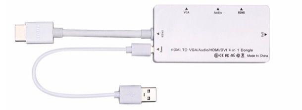 Adattatore HDMI to VGA