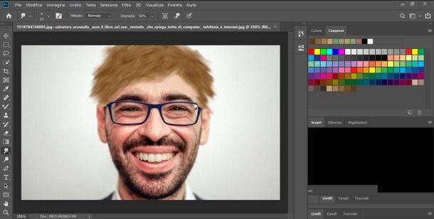 Capelli Photoshop
