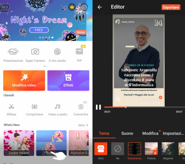 VideoShow app video