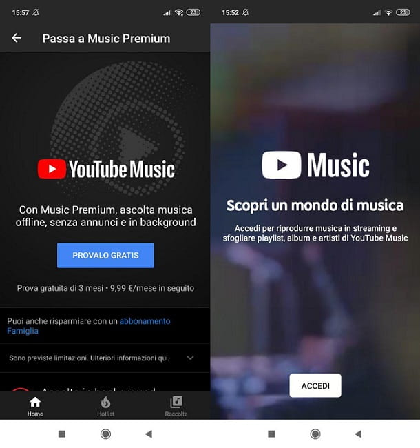 YouTube Music Smartphone