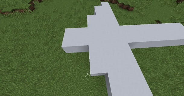 Ali aereo Minecraft
