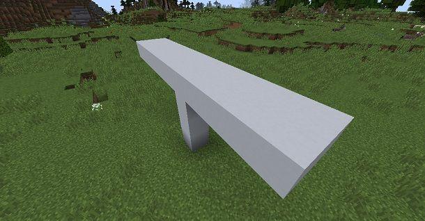 Fusoliera aereo Minecraft