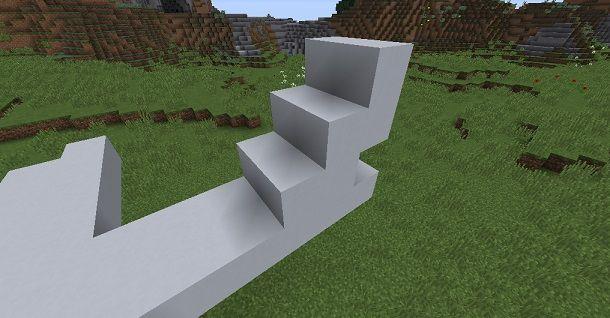 Coda aereo Minecraft