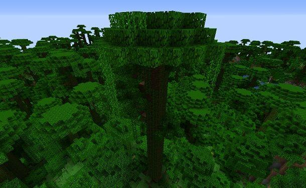 Albero giungla Minecraft