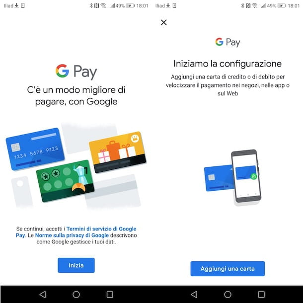 Configurare Google Pay