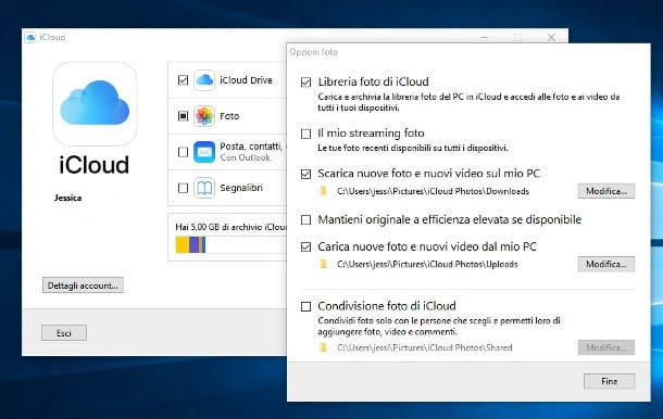 Client iCloud