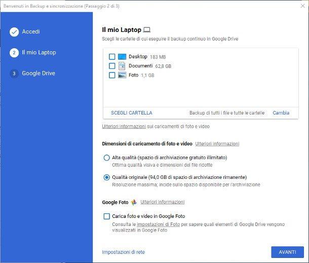 Come scaricare file da Google Drive su PC