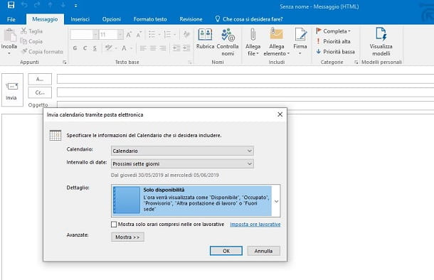 calendario Microsoft Outlook Windows