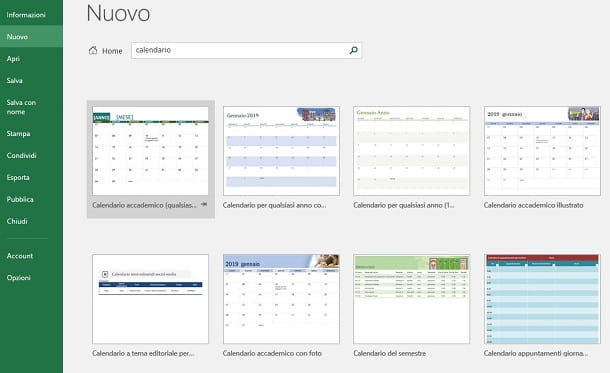 Fare Un Calendario Con Foto.Come Creare Un Calendario In Excel Salvatore Aranzulla