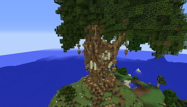 Casa sull'albero Minecraft