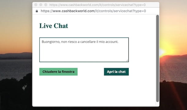 Chat Cashback World