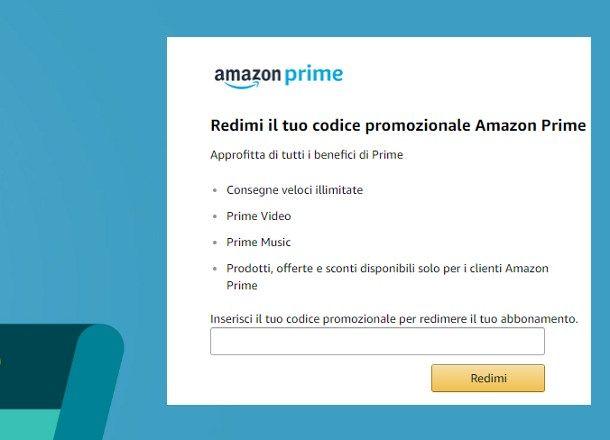 Come pagare Amazon Prime senza carta di credito