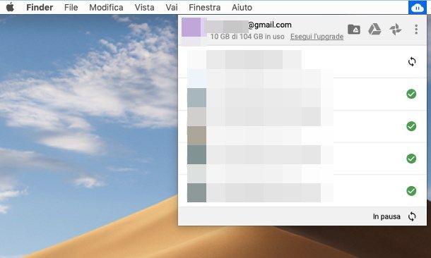 Come scaricare file da Google Drive su Mac