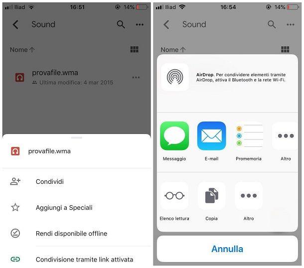 Come recuperare file da Google Drive per smartphone e tablet iOS