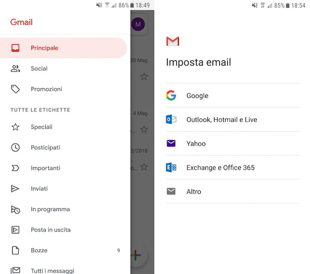 App Gmail Android