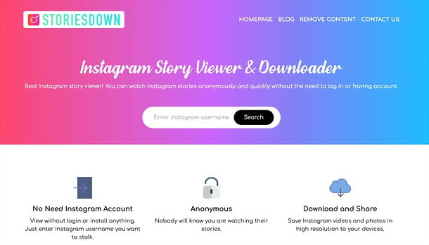 Stories Down