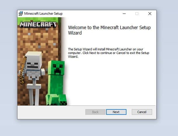 Minecraft Installer Windows