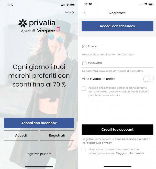 App Privalia