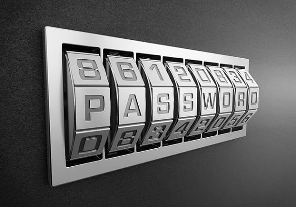 Cambiare le password