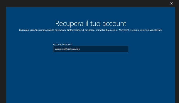 Come sbloccare Windows 10 con password dimenticata