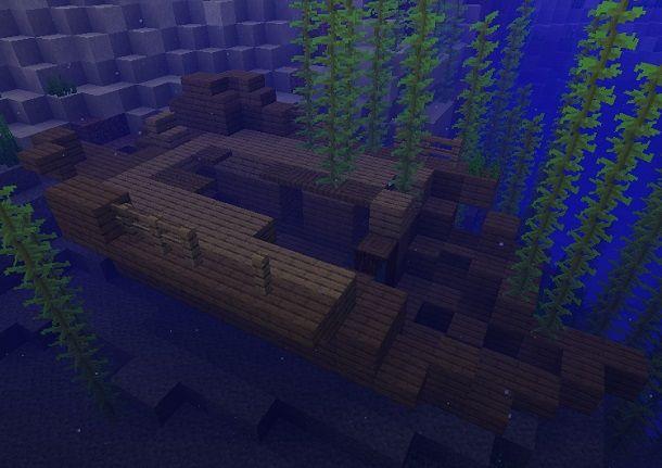 Relitto Minecraft