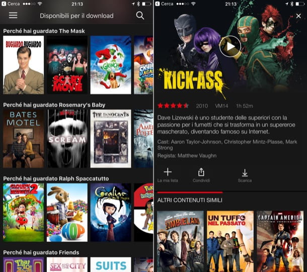 Come scaricare film e serie TV su iPhone