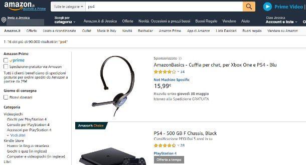 Come pagare su Amazon Prime