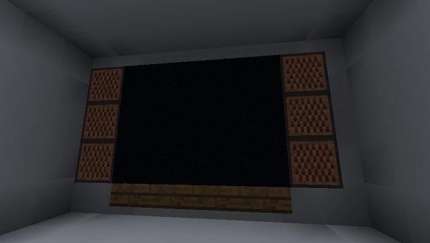 Televisore completo Minecraft