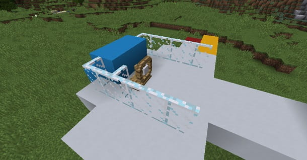 Timone aereo Minecraft